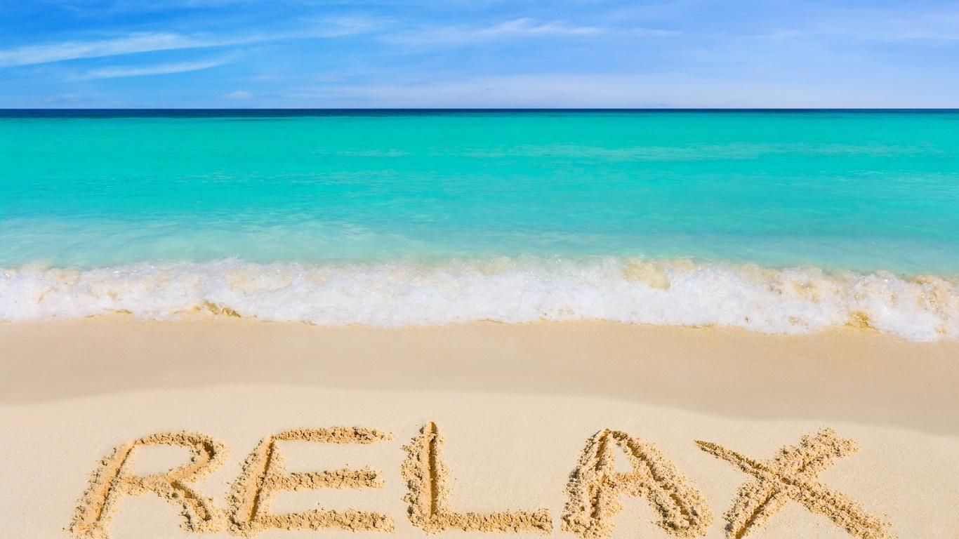 ... de pantalla de relajación, la arena. orilla del mar, verano, foto