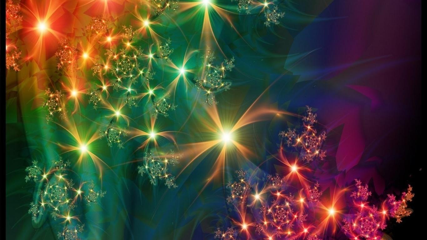 luces colores: