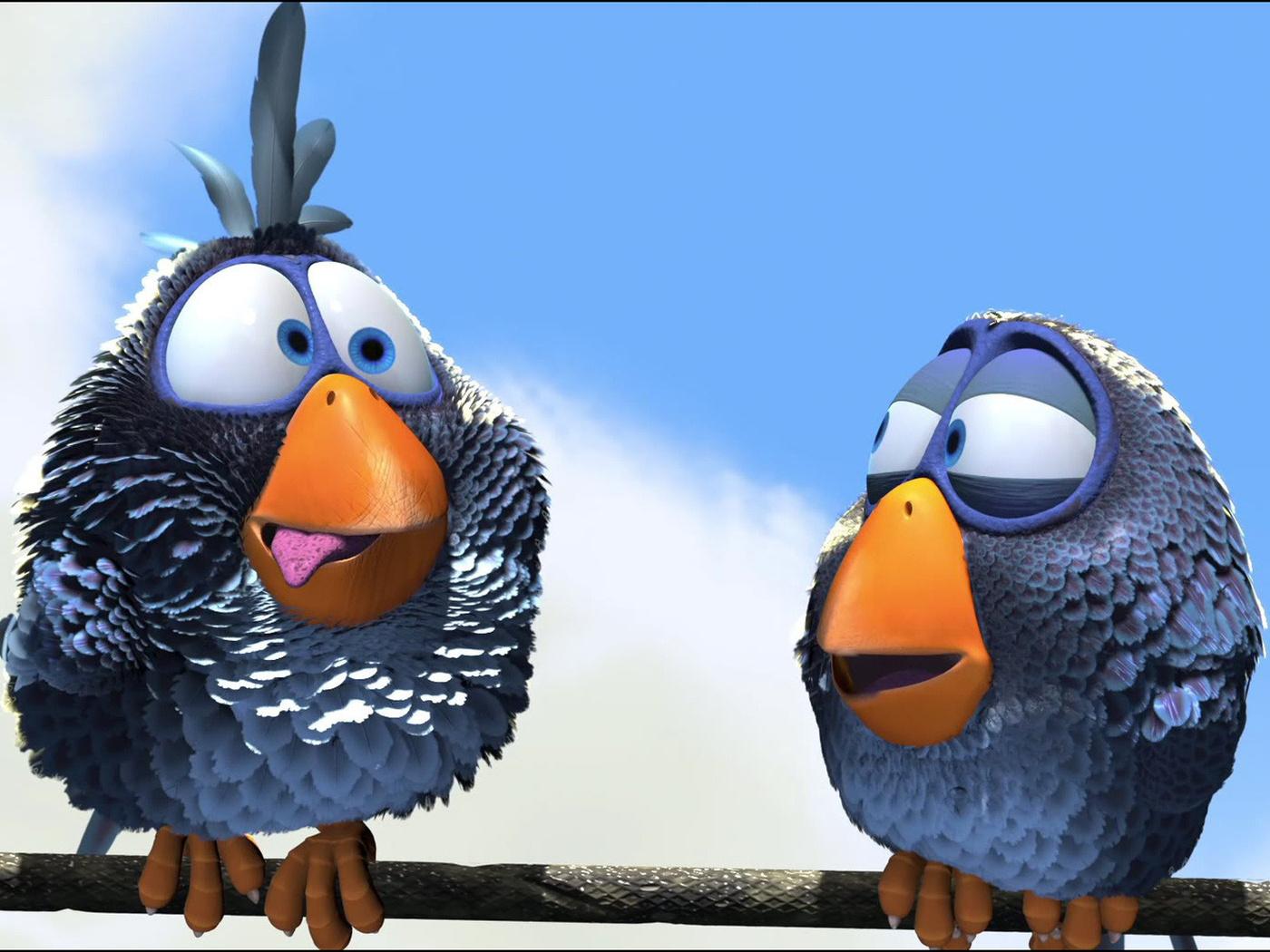 Hd fonds d écran pour les oiseaux les oiseaux dessin animé pixar