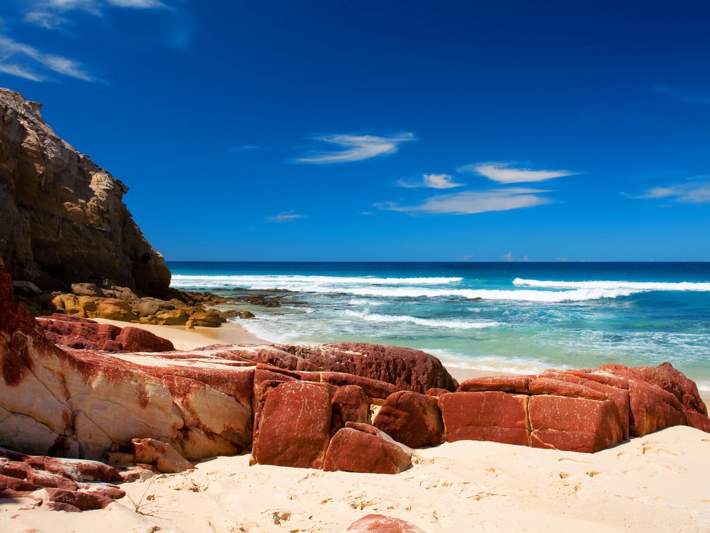 Пляжі красиві шпалери на робочий стіл